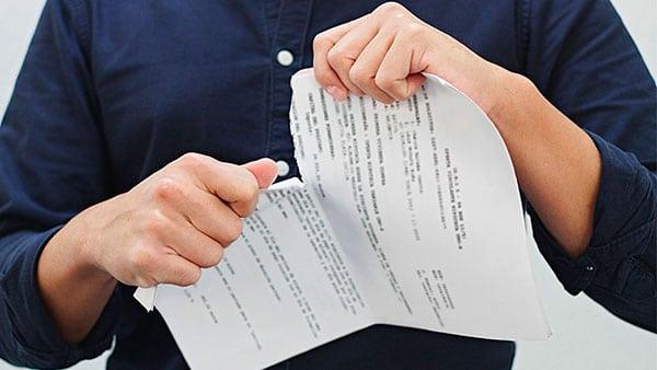 ابطال و فسخ مبایعه نامه